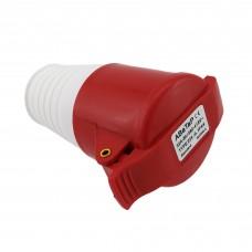 Разъем груша на кабель АВаТар 4Р 32А IP44 standart type 224