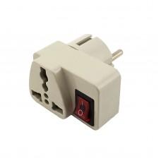 Универсальный адаптер с выключателем АВаТар 16А
