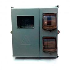 Шкаф наружный под счётчик 1-3 фазы и 6 авт. выкл. IP54