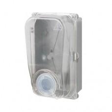 Ящик для 1ф лічильника прозорий (Дніпро) герметичний