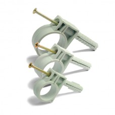 Обойма для труб ZIPLEX Ø 40мм з ударним шурупом