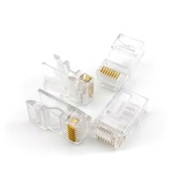 Штекер RJ45 8Р8С для UTP stranded, solid сat5/сat5e кабеля