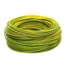 Електричний провід ЗЗЦМ ПВ-3 0.75 Жовто-зелений
