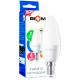 Світлодіодна лампа BIOM BT-550 C37 4W E14 4500K (Свічка)