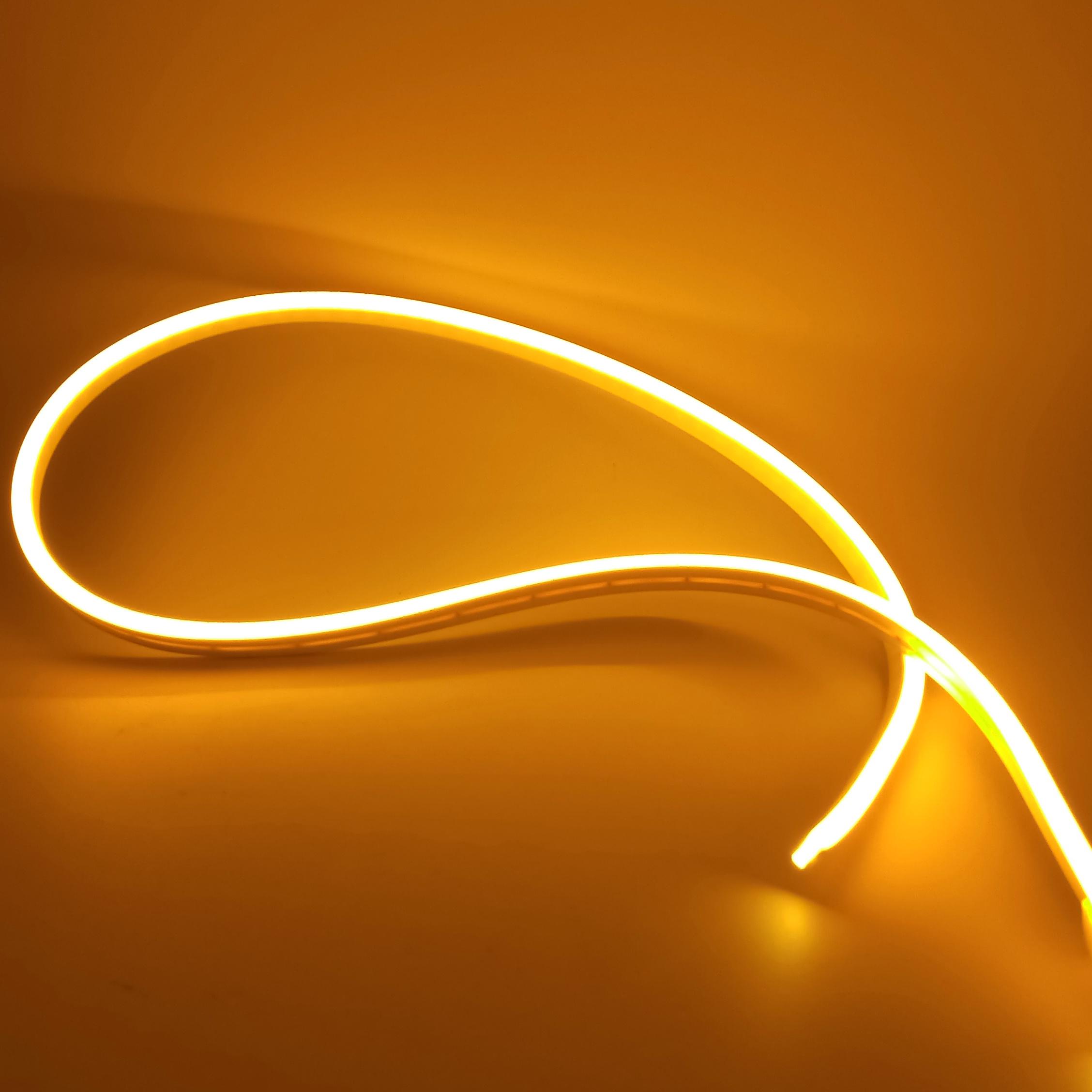 "Cветодиодный неон PROLUM Silicone 2835 120 IP68 12V 6x12 - SERIES ""SM"" PRO Жёлтый"
