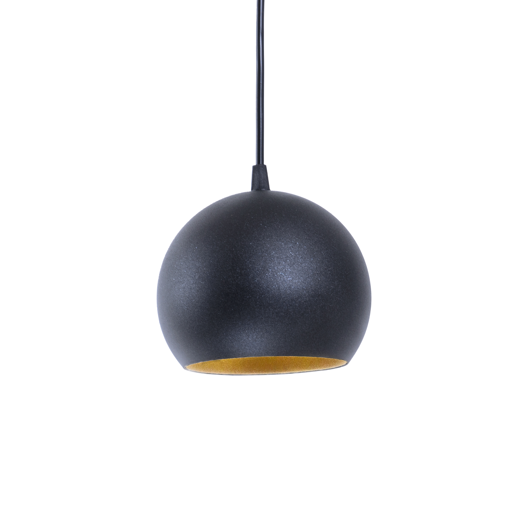Люстра подвесная Atma Light серии Shade Bowl P150 BlackM/Gold