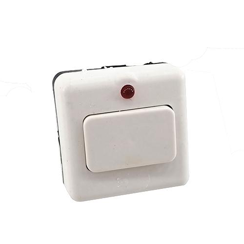 Светоприбор / Кнопка звонка с подсветкой квадратная