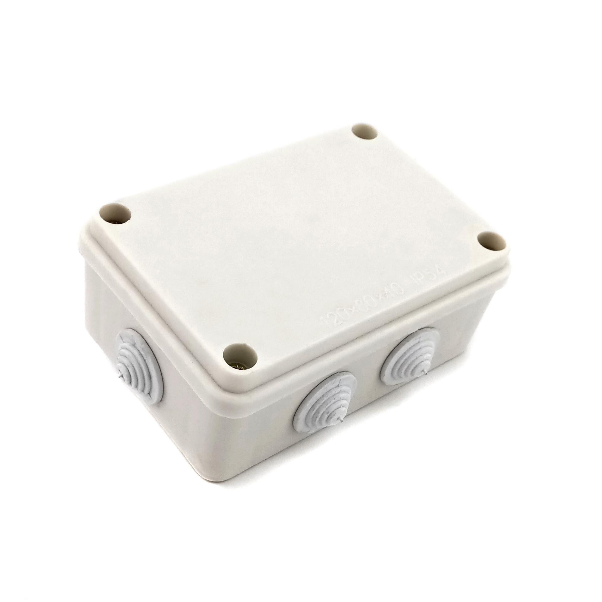 Распределительная коробка 120х80х40 IP54 с резинками ZIPLEX