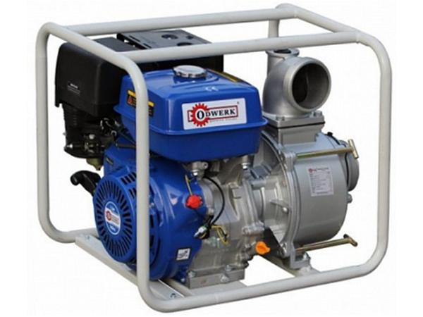 Купить Мотопомпы, Бензинова мотопомпа ODWERK GTP100A для грязной воды, 13663-1